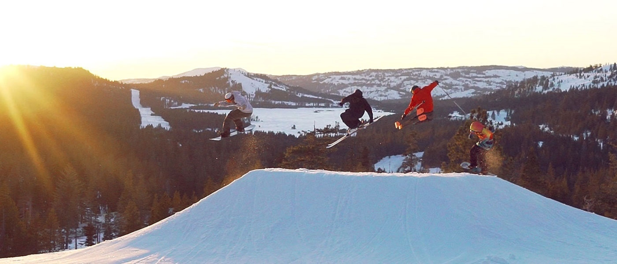Terrain Park Sunset Group